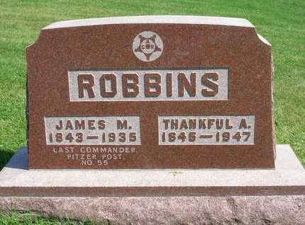 ROBBINS, JAMES MADISON - Madison County, Iowa | JAMES MADISON ROBBINS