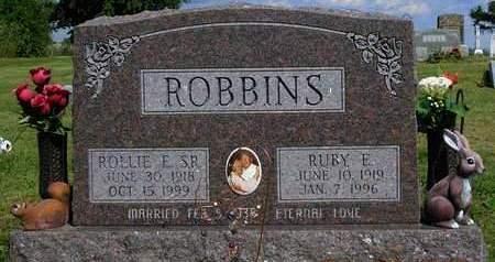 ROBBINS, ROLLIE EDWARD, SR. - Madison County, Iowa   ROLLIE EDWARD, SR. ROBBINS