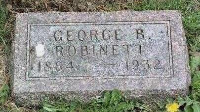 ROBINETT, GEORGE B. - Madison County, Iowa | GEORGE B. ROBINETT