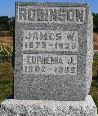 ROBINSON, JAMES WESLEY - Madison County, Iowa | JAMES WESLEY ROBINSON