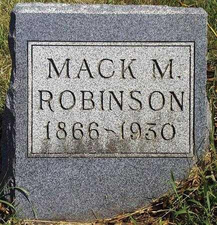 ROBINSON, MITCHELL MACTIER - Madison County, Iowa | MITCHELL MACTIER ROBINSON