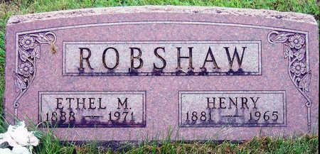 ROBSHAW, ETHEL MABEL - Madison County, Iowa | ETHEL MABEL ROBSHAW