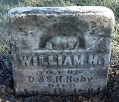 ROBY, WILLIAM H. - Madison County, Iowa | WILLIAM H. ROBY