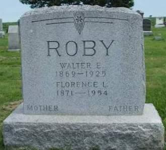 ROBY, WALTER ELMER - Madison County, Iowa | WALTER ELMER ROBY