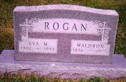 ROGAN, HARRIET EVELYN (EVA) - Madison County, Iowa | HARRIET EVELYN (EVA) ROGAN