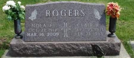 ROGERS, CLAIR WINFIELD - Madison County, Iowa | CLAIR WINFIELD ROGERS
