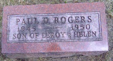 ROGERS, PAUL DUANE - Madison County, Iowa | PAUL DUANE ROGERS