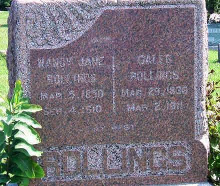 ROLLINGS, NANCY JANE - Madison County, Iowa   NANCY JANE ROLLINGS