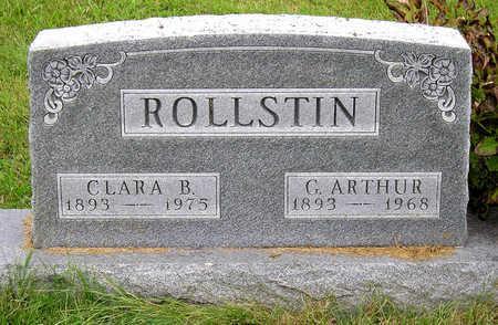 ROLLSTIN, CLARA BEATRICE - Madison County, Iowa | CLARA BEATRICE ROLLSTIN