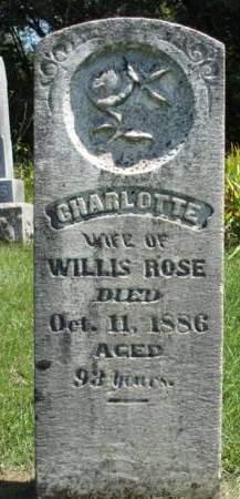 ROSE, CHARLOTTE - Madison County, Iowa | CHARLOTTE ROSE