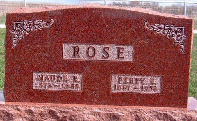 ROSE, PERRY ERNEST - Madison County, Iowa | PERRY ERNEST ROSE