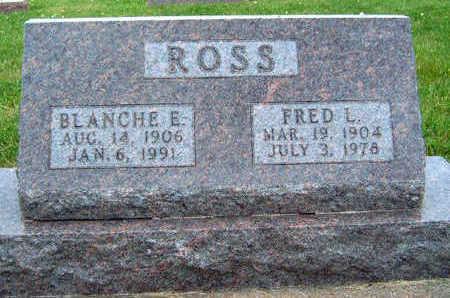 ROSS, BLANCHE E. - Madison County, Iowa | BLANCHE E. ROSS