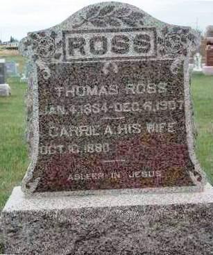 ROSS, THOMAS - Madison County, Iowa | THOMAS ROSS