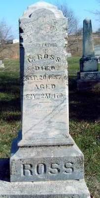ROSS, CUNNINGHAM - Madison County, Iowa   CUNNINGHAM ROSS