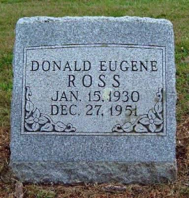 ROSS, DONALD EUGENE - Madison County, Iowa | DONALD EUGENE ROSS