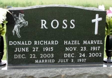 ROSS, DONALD RICHARD - Madison County, Iowa | DONALD RICHARD ROSS
