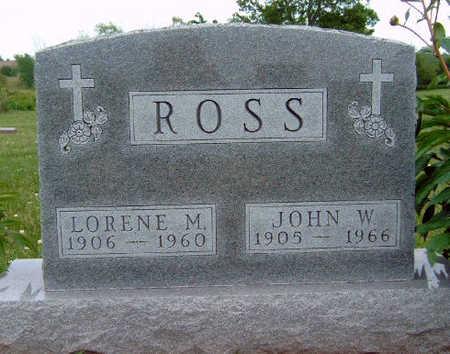 ROSS, JOHN WESLEY - Madison County, Iowa | JOHN WESLEY ROSS