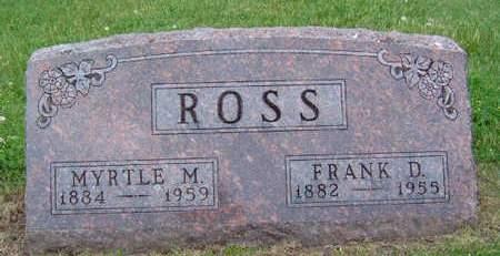 ROSS, MYRTLE MINNIE - Madison County, Iowa | MYRTLE MINNIE ROSS