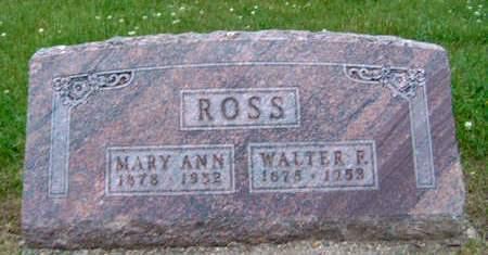 ROSS, MARY ANN - Madison County, Iowa | MARY ANN ROSS