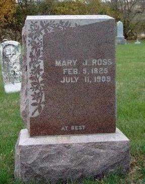 ROSS, MARY JANE - Madison County, Iowa | MARY JANE ROSS
