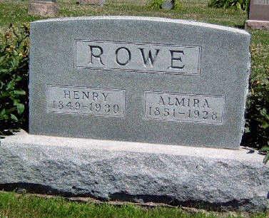 ROWE, ALMIRA JANE - Madison County, Iowa | ALMIRA JANE ROWE