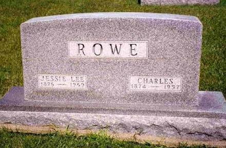 ROWE, CHARLES - Madison County, Iowa   CHARLES ROWE