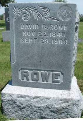 ROWE, DAVID GARRETT - Madison County, Iowa | DAVID GARRETT ROWE