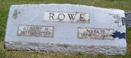 ROWE, NELLIE - Madison County, Iowa | NELLIE ROWE