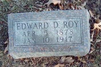 ROY, EDWARD DARWIN - Madison County, Iowa | EDWARD DARWIN ROY