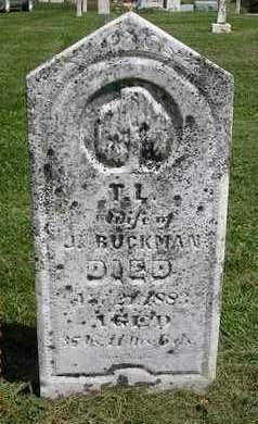 RUCKMAN, T. L. - Madison County, Iowa | T. L. RUCKMAN