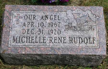 RUDOLF, MICHELLE RENE - Madison County, Iowa   MICHELLE RENE RUDOLF