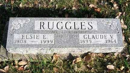 RUGGLES, CLAUDE V. FERMIN - Madison County, Iowa   CLAUDE V. FERMIN RUGGLES