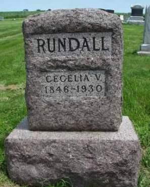 RUNDALL RUNDALL, CECELIA VIOLETTE - Madison County, Iowa | CECELIA VIOLETTE RUNDALL RUNDALL