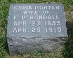 RUNDALL, CINDERELLA E. (CINDA) - Madison County, Iowa | CINDERELLA E. (CINDA) RUNDALL