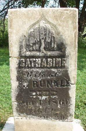 RUNKLE, CATHERINE - Madison County, Iowa | CATHERINE RUNKLE