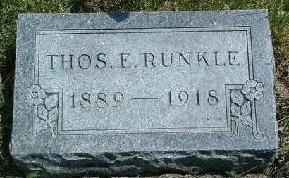 RUNKLE, THOMAS EARL - Madison County, Iowa   THOMAS EARL RUNKLE