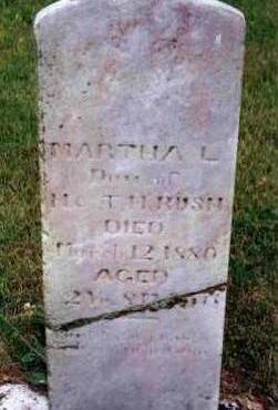 RUSH, MARTHA LILLIE - Madison County, Iowa | MARTHA LILLIE RUSH
