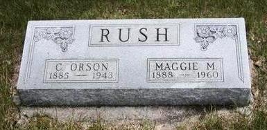 GROVES RUSH, MAGGIE MAY - Madison County, Iowa | MAGGIE MAY GROVES RUSH