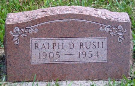 RUSH, RALPH D. - Madison County, Iowa   RALPH D. RUSH