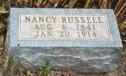 RUSSELL, AGNES NANCY - Madison County, Iowa   AGNES NANCY RUSSELL