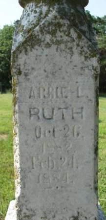 RUTH, ARBIE L. - Madison County, Iowa   ARBIE L. RUTH