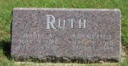 RUTH, KENNETH JOHN - Madison County, Iowa | KENNETH JOHN RUTH