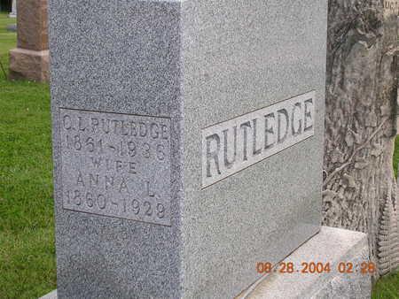 RUTLEDGE, ANNA L. - Madison County, Iowa | ANNA L. RUTLEDGE