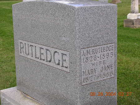 RUTLEDGE, MARY JANE - Madison County, Iowa | MARY JANE RUTLEDGE