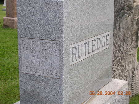 RUTLEDGE, OSMOND LINEUS - Madison County, Iowa | OSMOND LINEUS RUTLEDGE