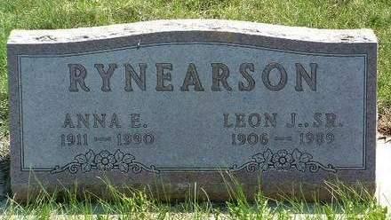 RYNEARSON, ANNA ELIZABETH - Madison County, Iowa   ANNA ELIZABETH RYNEARSON