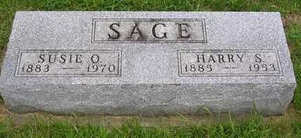 SAGE, SUSAN ODESSA - Madison County, Iowa | SUSAN ODESSA SAGE