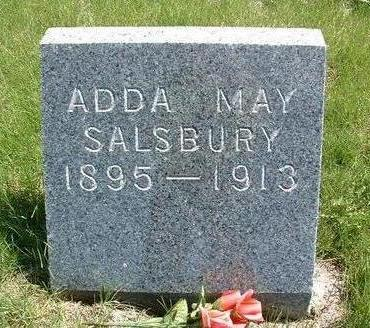 SALSBURY, ADDA MAY - Madison County, Iowa | ADDA MAY SALSBURY
