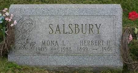 SALSBURY, HERBERT HOBSON - Madison County, Iowa | HERBERT HOBSON SALSBURY