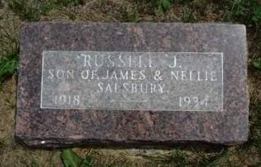 SALSBURY, RUSSELL JAMES - Madison County, Iowa | RUSSELL JAMES SALSBURY